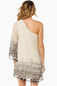 One shoulder dresses.
