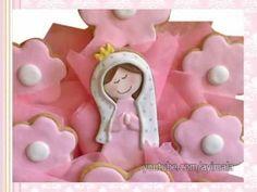 Centros de Mesa de Galletas Decoradas - Decorated Cookies Centerpieces -...