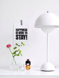 Happy & bright.