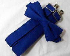 Ring Bearer Suspenders, Groomsmen Suspenders, Wedding Suspenders, Royal Blue Bow Tie, Royal Blue Shirts, Popular Wedding Colors, Spring Wedding Colors, Blue Bridesmaids, Groomsmen