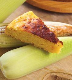 ¡Buenos días! Seguimos con la #celebraciónmexicana, y para desayunar ¿No se te antoja un Pastel de elote?