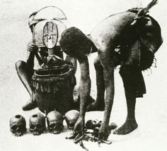 Charles Stephen-Chauvet, The Art funeraire au Gabon, Immaculee, Castres, France, 1933
