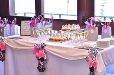 bridal shower/ bachlorette party idea (but in purple of course if its the bridal shower) rachel-s-bridal-shower