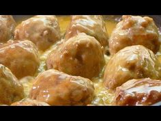 Easy meatballs recipe with a TASTY sauce - cooking food recipes for dinner to make at home - Cooking Video Meatball Recipes, Meat Recipes, Dinner Recipes, Cooking Recipes, Healthy Recipes, Cooking Food, Cooking Videos, Food Videos, Dinners To Make