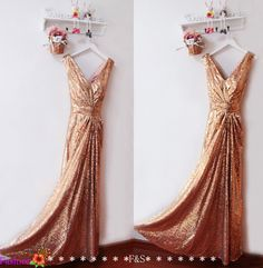 Prom Dress,Sequin Long Gold Prom Evening Dress,Champagne Sequin Prom Evening Long Formal Dress,Graduation Bridesmaid Dress,Sequin Prom Dress by FashionStreets on Etsy https://www.etsy.com/listing/210646256/prom-dresssequin-long-gold-prom-evening