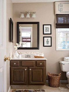 Bathroom Wall Decor, Bathroom Sets, Bathroom Faucets, Bathroom Canvas, Bathroom Black, Vanity Bathroom, Small Bathrooms, Parisian Bathroom, Shiplap Bathroom
