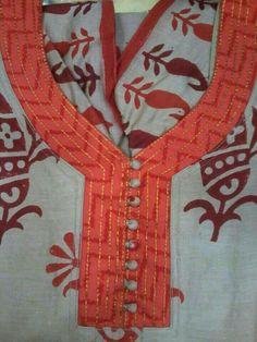 Chudidhar Designs, Churidhar Neck Designs, Salwar Neck Designs, Neck Designs For Suits, Kurta Neck Design, Neckline Designs, Dress Neck Designs, Kurta Designs, Hand Designs