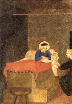 1434 - Birth of the Virgin  - Fra Angelico