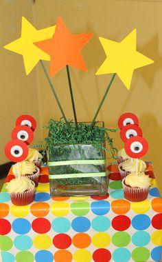 cupcake topper yo gabba gabba party