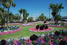 Clacton municipal gardens