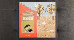 """Peek through a window to see what's going on outside–and then peek back in with """"Inside Outside"""" by Lizi Boyd #WhatWeeRead   Wee Society"""