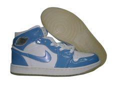 Only$56.00 AIR JORDAN RETRO 1 BABY BLUE WHITE Free Shipping!