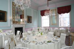 The Duke Room can also be used for your wedding reception, in conjunction with the adjoining Duchess Room for wedding breakfasts of up to 110 guests. http://www.chandoshouse.co.uk/weddings/our-wedding-rooms/duke-room #wedding #venue #event