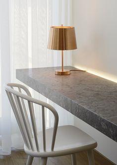 Wastberg - Outlet - t Lindvall Table Lamp New Bedroom Design, Copper Lighting, Kerosene Lamp, Incandescent Light Bulb, Ping Pong Table, Oil Lamps, Danish Design, Candlesticks, Light Fixtures