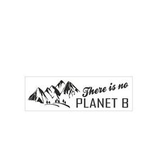 There is no planet b bumper sticker, political sayings and stickers, climate change bumper sticker