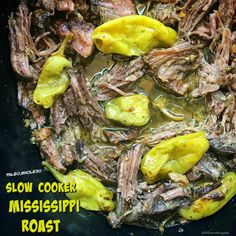 While this cleaned up version of the Mississippi roast recipe is both whole30 and paleo, it's not lacking the flavor that made this recipe famous in the first place.