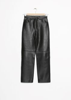 & Other Stories | Leather Trousers