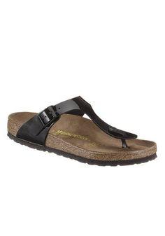 Birkenstock Zehentrenner, mit ergonomisch geformten Fußbett ab 59,99€.  Obermaterial aus softem Lederimitat, Mit verstellbarer Schließe bei OTTO ec6fc30593
