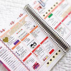 Erin Condren Life Planner - Gold Spread! #erincondren #lifeplanner #weloveec