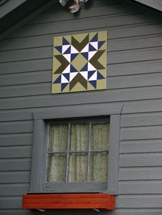How to make your own barn quilt; great directions!