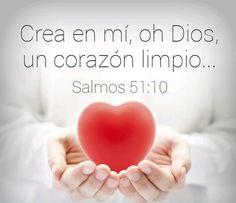 ¡Crea en mí, oh Dios, un corazón limpio!