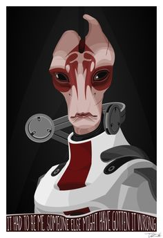 Mordin, Mass Effect, It had to be me. Someone else might have gotten it wrong