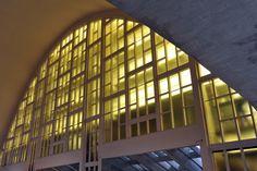 Les Halles du Boulingrin à Reims rénovées en béton fibré à ultra hautes performances Vicat