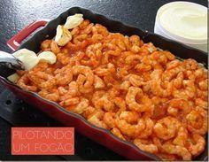 Essa receita é fácil, prática e deliciosa! Experimente essa receita de camarão!
