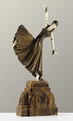DEMETRE CHIPARUS | 'TESTRIS'  ca 1925