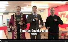 """Two of my favorite things: Doctor Who and 90's Scottish bands! (The cast and crew of David Tennant-era DW lip sync to """"500 Miles"""" by the Proclaimers.) @Brandon Martin @Madi Martin"""
