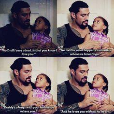 Roman Reigns his daughter JoJo