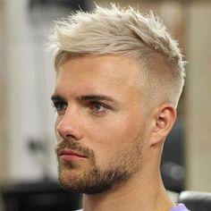 Blond gefärbte haare männer