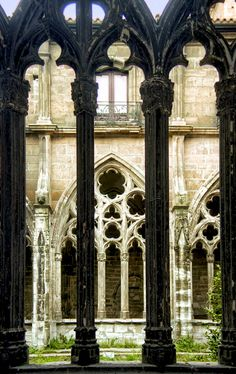 Claustro de la Catedral de Oviedo. Asturias.