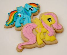 My Little Pony - Fluttershy and Rainbow Dash | Cookie Connection
