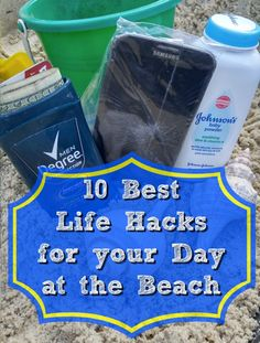 10 Best Life Hacks for your Day at the Beach | Easy and Simple ways to make your beach day less stressful | Family Travel
