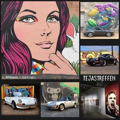 Graffiti Run 911 If you're coming to #tejastreffen register for  #graffitirun911  a guided visit to Houston's best murals the morning of the event. Limited to 40 cars. Sponsored by @sierramadrecollection  art by @michaelcrodriguez @nickydavis @tarboxx2 @billyperkins  ...#Relfer #porsche #911 #carrera  #aircooled #flatsix #rennsport #classic #nineeleven #911 #porsche911 #hotrod #racing #vintage #porscheclassic #porscheracing #luftgekühlt  #instagood #colors #drivetastefully #p911r