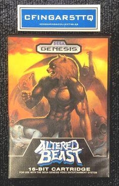 altered beast (#sega genesis 1989) from $14.99
