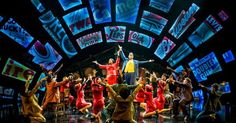 Guys and Dolls. Chic - Guys and Dolls. Chichester. Scenic design by Peter…