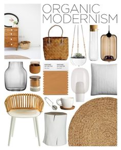 """""""Organic Modernism"""" by ladomna ❤ liked on Polyvore"""