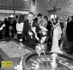 Ideal wedding entertainment to keep your guests amused and great icebreaker!  Wedding fun casino @TheAshes