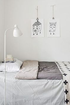 minimal kids room