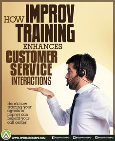 Sometimes, the best #CustomerService interactions are the unscripted ones. Learn how training your agents in #improv can improve the #CustomerExperience.