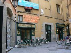 Chocolateria de San Gines in Madrid