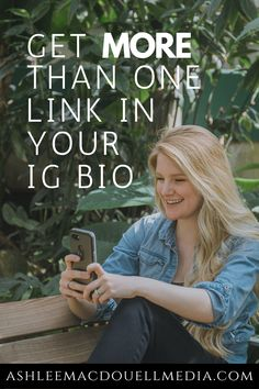 You get one link in your Instagram bio. Use this trick to make the most out of it for your small business' social media marketing. #ashleemacdouellmedia #instagramtips #entrepreneur #socialmediamarketing Social Media Management Tools, Social Media Tips, Ig Bio, Social Media Marketing Business, Instagram Bio, Coaching, Entrepreneur, Link, Training