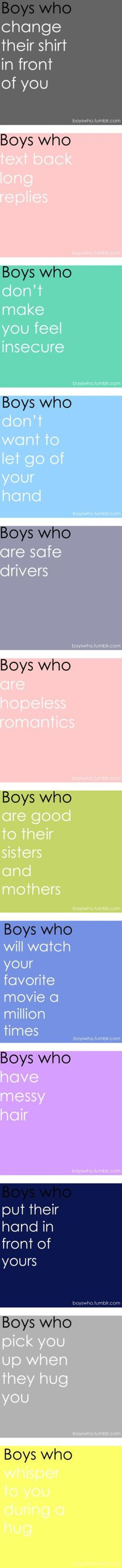 """""""I love Boys Who...."""" by iloveyou02 ❤ liked on Polyvore"""