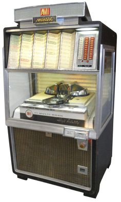 Jukebox, AMI 200 w/multi-horn high fidelity, Exc working cond, 63 H x 34 W.