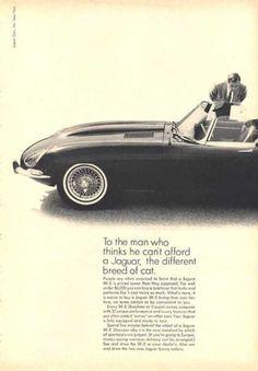 1962 XKE ad