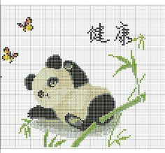 Beaded Cross Stitch, Cross Stitch Embroidery, Embroidery Patterns, Cross Stitch Designs, Cross Stitch Patterns, Kawaii Cross Stitch, Cross Stitch Boards, Cross Stitch Animals, Plastic Canvas Patterns