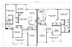 First Floor of Plan ID: 28729