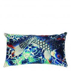 Jean Paul Gaultier Cushion Sublimation Bleu